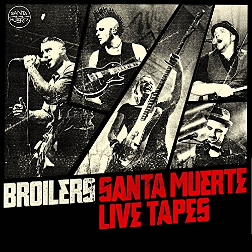 Santa Muerte Live Tapes (Limited Edition inkl. Patch) (Patch Einfach)