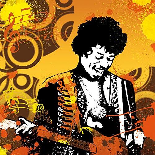 Apple iPhone 5 Case Skin Sticker aus Vinyl-Folie Aufkleber Musik Jimi Hendrix Gitarre DesignSkins® glänzend
