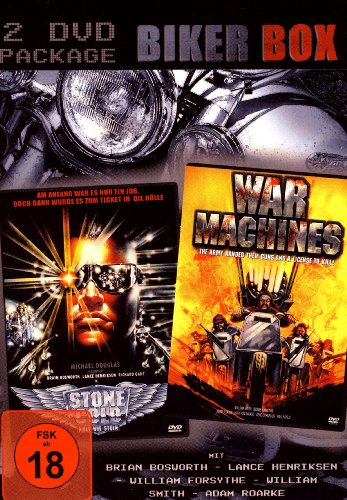BIKER BOX (2 DVDs) Stone Cold - Kalt wie Stein & War Machines (Stone Cold Dvd)