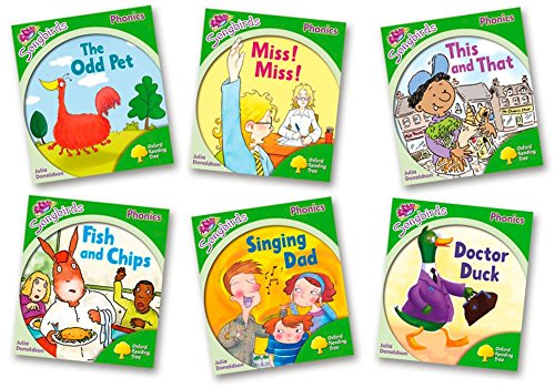 Oxford Reading Tree Songbirds Phonics: Level 2. Mixed Pack of 6