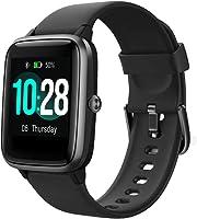 TOOBUR Smartwatch, IP68 Impermeable Reloj Inteligente con Pulsómetro, 1.3 Pulgada Pulsera Actividad Inteligente con...