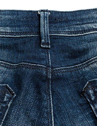 Replay Damen Skinny Jeanshose Yasmeen Blau (Blue Denim 9)