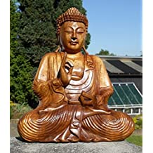 super schoner 40 cm buddha meditation holz budda feng shui bm40