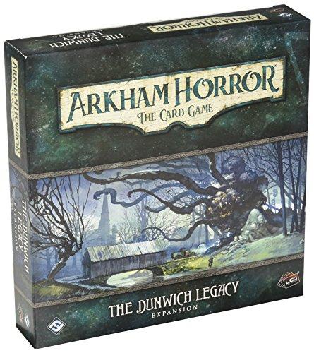 Expansión para juego de cartas Arkham Horror, de Fantasy Flight Games FFGAHC02, El legado Dunwich LCG, en forma deTarjetas