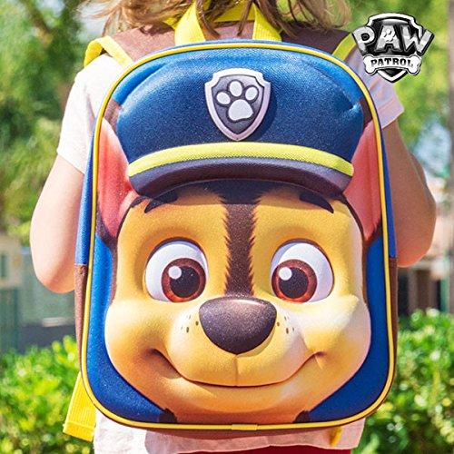 mochila-escolar-3d-chase-la-patrulla-canina