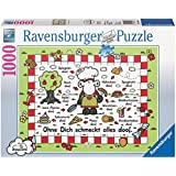Ravensburger 19068 - Sheepworld: Ohne dich schmeckt alles doof - 1000 Teile Puzzle