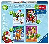Ravensburger My First Puzzle, Weihnachten Friends (2, 3, 4& 5-Teiliges) Puzzle.