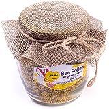 Polen de abeja 500 g en un tarro de cristal. Fresco 2016. Polen polaco directamente del apicultor.