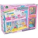Shopkins - Happy Places, Happy Home plus 1 muñeca con 9 accesorios (Giochi Preziosi HPH00001)