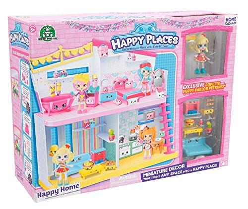 Shopkins - Happy Places, Happy Home plus 1 muñeca con 9 accesorios (Giochi...