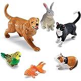 Learning Resources- Animali Domestici Jumbo, Colore, LER0688