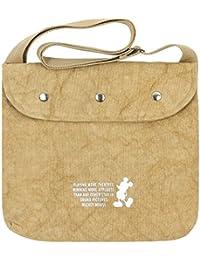 ililily Disney Mickey Mouse Cotton Canvas Shoulder Small Handbag Messenger Bag
