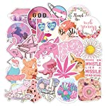 Mai Zi Stickers for Water Bottles 50 pcs Laptop Stickers Waterproof Stickers Pack Cute Aesthetics Stickers for Teens...