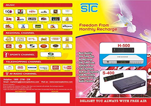 Free To Air Set Top Box Satellite Receiver (No Monthly Recharge Required ) Radio Channels  sc 1 st  PaisaWapas.com & 6% OFF on Free To Air Set Top Box Satellite Receiver (No Monthly ... Aboutintivar.Com