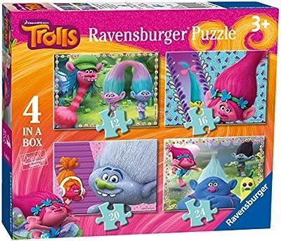 Trolls - Puzzle 4 en una caja (Ravensburger 06864)