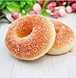 1Stk. Squishy weiches Donuts Brot Creme kawaii Handyanhänger Spielzeug, 7.5cm