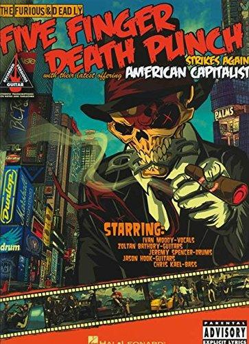 Five Finger Death Punch: American Capitalist: Songbook, Tabulatur für Gitarre (Guitar Recorded Versions)