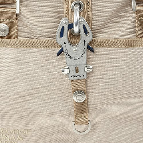George Gina   Lucy More Than Hot Borsa a spalla 37 cm Beige ... fbe742ca17fc0