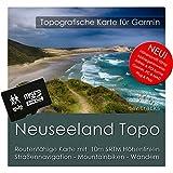 Neuseeland Garmin Karte TOPO 4 GB microSD. Topografische GPS Freizeitkarte für Fahrrad Wandern Touren Trekking Geocaching & Outdoor. Navigationsgeräte, PC & MAC