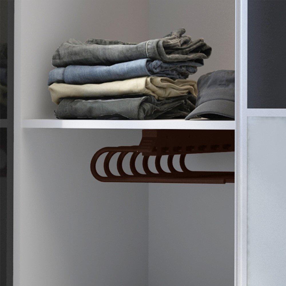 Emuca 7085825 Hosenauszug für Kleiderschrank, Montage auf der ...