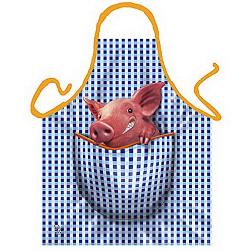 Schweinchen an Bord - Känguru Style - ITATI Schürze + Urkunde