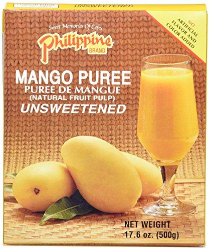 Philippine Brand Drinks Mangopüree, 24er Pack (24 x 500 g) (Mango-saft)