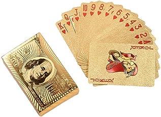 Riklos Spielkarten Wasserdichte dauerhafte Poker Karten Kartenspiel Poker
