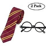 Accesorios de Halloween novedosas gafas y corbata