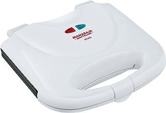 Maharaja Whiteline Viva SM-103 750-Watt Sandwich Maker (White)