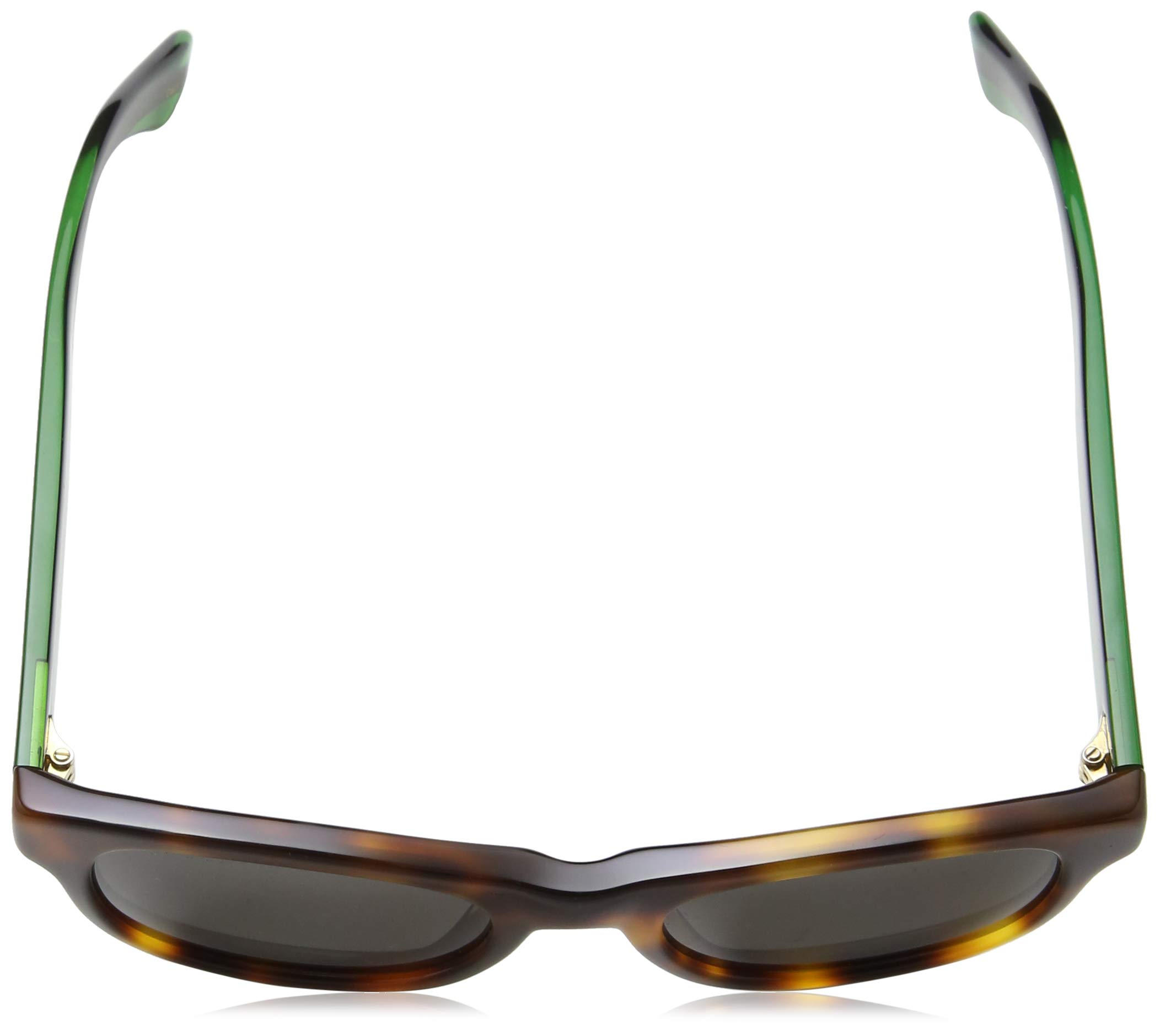46427bc530 Gucci GG0003S Gafas de Sol, Avana-Green-Grey, 52 para Hombre ...