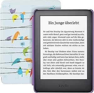Kindle Kids Edition Mit Zugriff Auf Mehr Als Tausend Bücher Regenbogenvögel Amazon Devices
