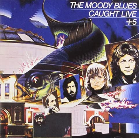 Moody Blues Cd - Caught Live +