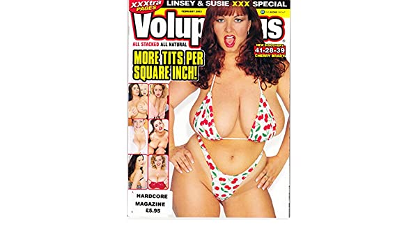 dddfa2e978 Voluptuous Magazine February 2003 Volume 10 Number 2 with Linsey Dawn  McKenzie and Sierra Lewis  Amazon.co.uk  Books