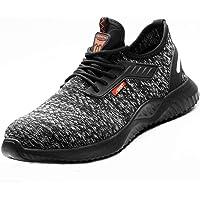 DoGeek Scarpe Antinfortunistiche Donna Uomo Traspirante Industriale e Costruzione Safety Shoes Scarpe da Lavoro per la…