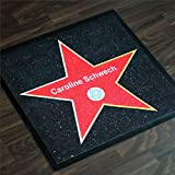 Hollywood Walk of Fame Fußmatte mit Personalisierung