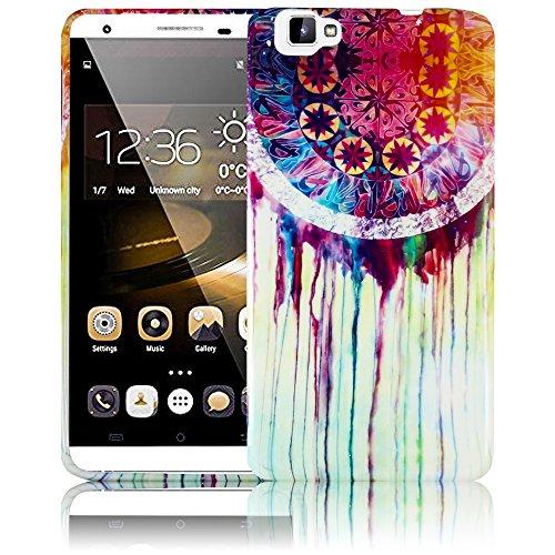 thematys Passend für CUBOT X15 - TRAUMFÄNGER Silikon Schutz-Hülle weiche Tasche Cover Case Bumper Etui Flip Smartphone Handy Backcover Schutzhülle Handyhülle