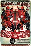 Marvel Comics PP33796 Deadpool vs Wade Maxi Poster, Bois Dense, Multicolore, 61 x 91,5 cm