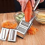 La creatività manuale multifunzione veggie trinciatore Carote Patate affettatrice grattugia di frutta