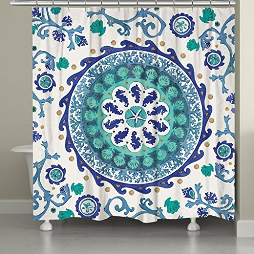 Chinesischer Drache Dusche Vorhänge Polyester-167,6x 182,9cm-Badezimmer Vorhang mit (Schüssel Kostüm Fisch Eine In)