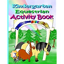 Kindergarten Equestrian Activity Book