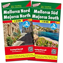 Freytag Berndt Autokarten, Mallorca Nord und Süd, Set - Maßstab 1:50.000 (freytag & berndt Auto + Freizeitkarten)