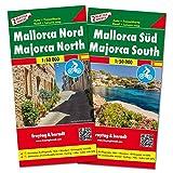 Freytag Berndt Autokarten, Mallorca Nord und Süd, Set - Maßstab 1:50.000 (freytag & berndt Auto + Freizeitkarten) - Freytag-Berndt und Artaria KG