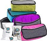 Packwürfel 5pcs Wert Set für Reisen - Plus 6pcs Gepäck Veranstalter Zip Beutel