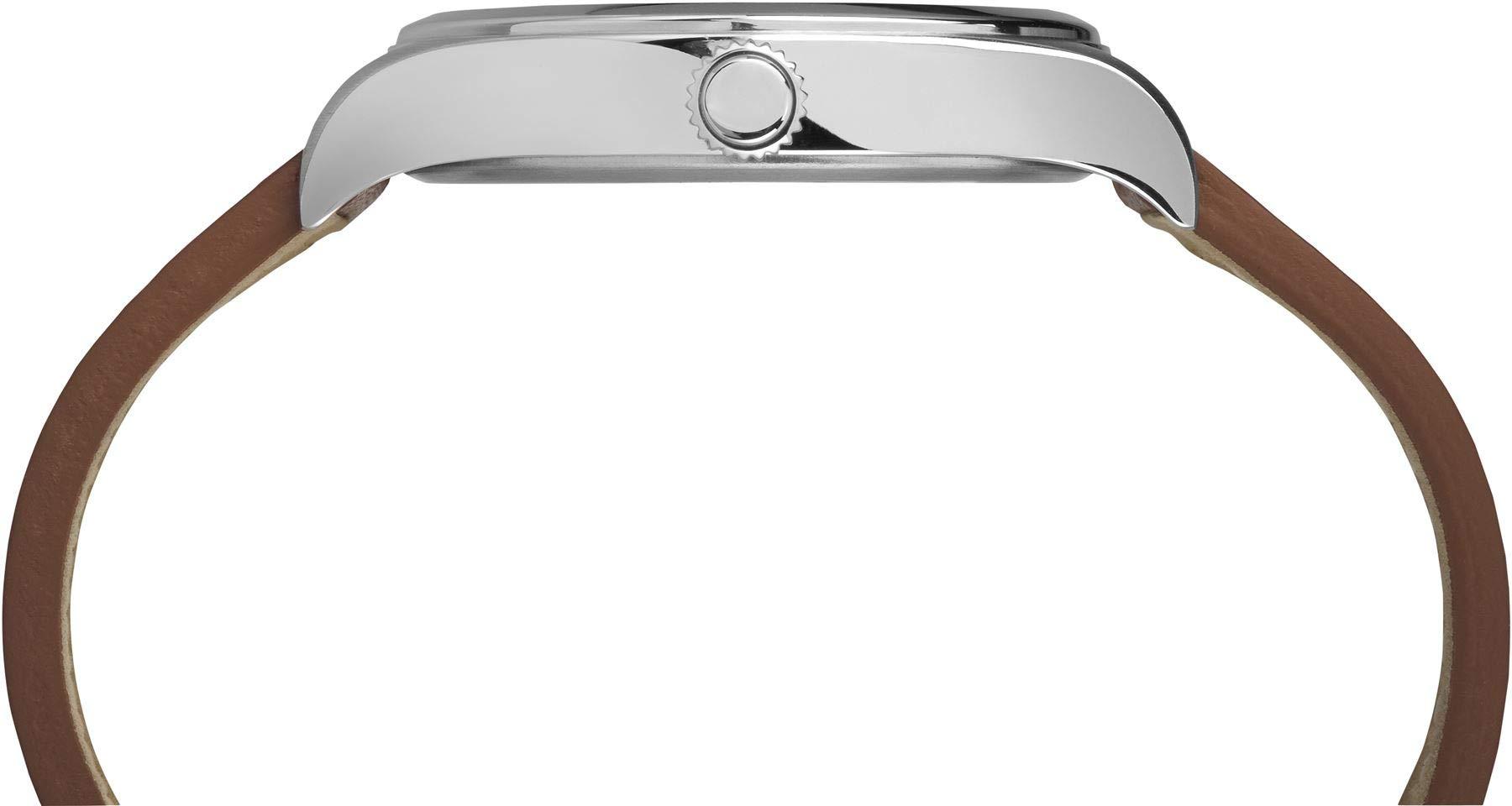 Timex Reloj Analógico para Hombre de Cuarzo con Correa en Cuero TW2P84600VQ