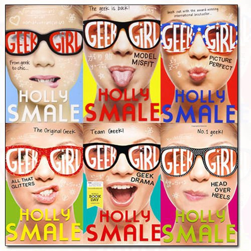Geek Girl Series Holly Smale Collection 6 Books Bundle (Geek Girl, Model Misfit, Picture Perfect, All That Glitters, Head Over Heels, Geek Drama)