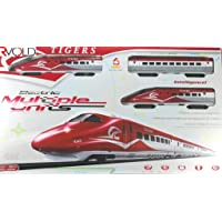 Rvold Tiger Electric Metro Bullet Train with Tracks - Best Train Toy for Kids