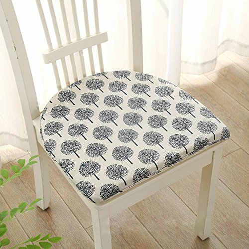 Lino cojines de silla antideslizante asiento coj n for Cojin para silla de oficina