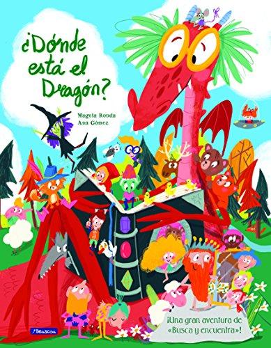 ¿Dónde está el dragón?: Una gran aventura de «busca y encuentra» (San Jorge) por Magela Ronda