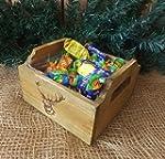 Mini Wooden Christmas Treats Box with...
