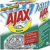 Ajax - Estropajo Acero Inoxidable, 20 g - [Pack de 8]